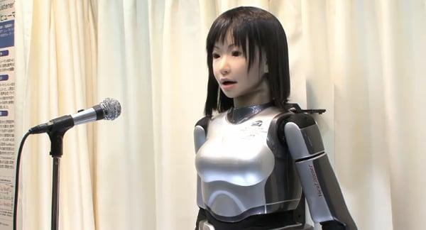hrp-4c singing robot