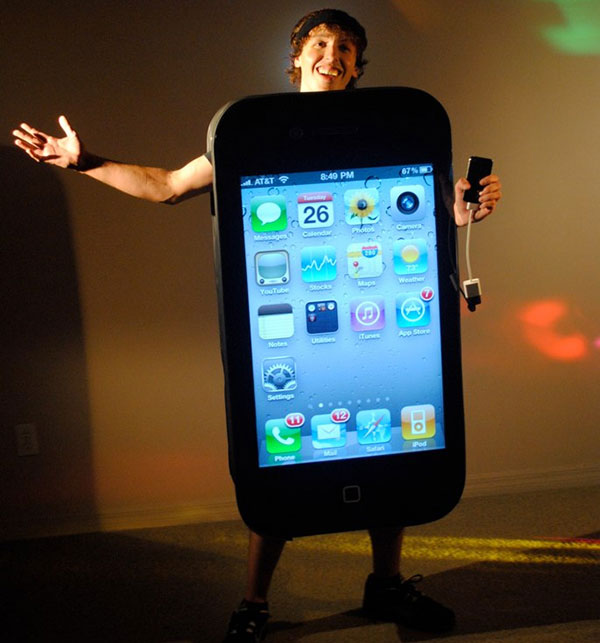 iphone 4 costume