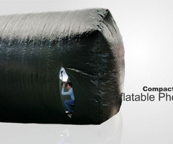 Inflatable Photo Studio Lets Photogs Shoot Indoors When Outdoors