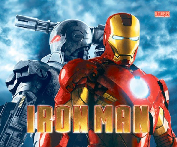 Iron Man Pinball Machine Aims at Collectors