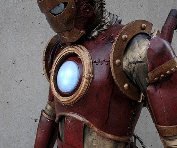 Steampunk Iron Man Costume is Better Than the Second Movie