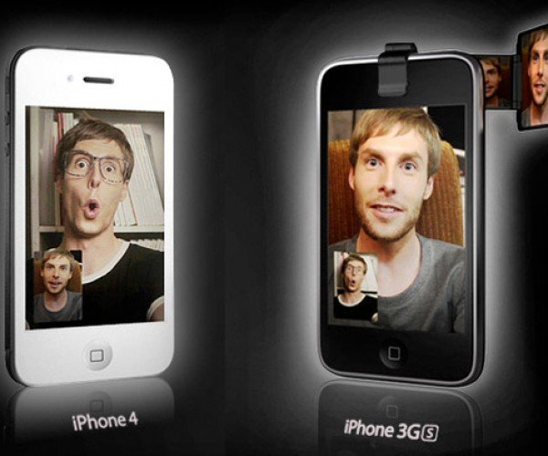 Iseeu Adds Front-Facing Camera to iPhone 3gs, Sorta.