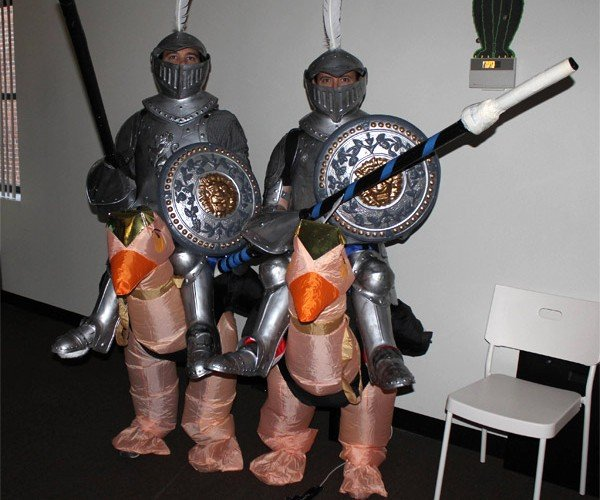 Joust Costumes: 2 Can Play at Once