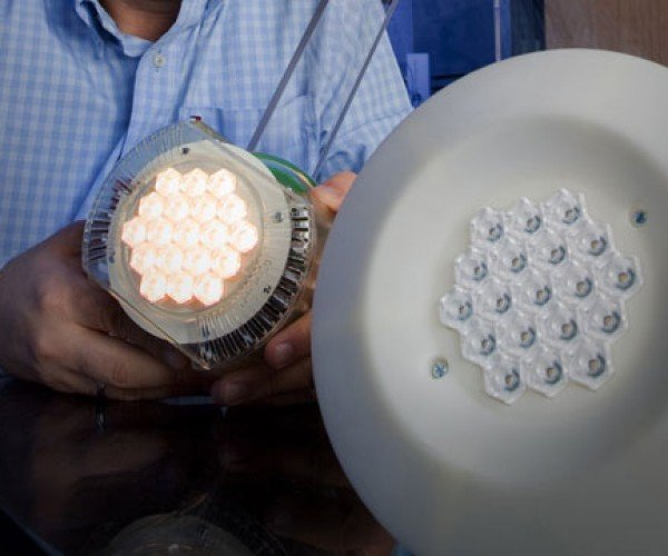 Eco-Friendly LED Light Bulb Cooled With Jet Engine Tech