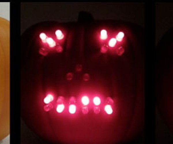 Geeky LED Jack-O-Lantern DIY Project