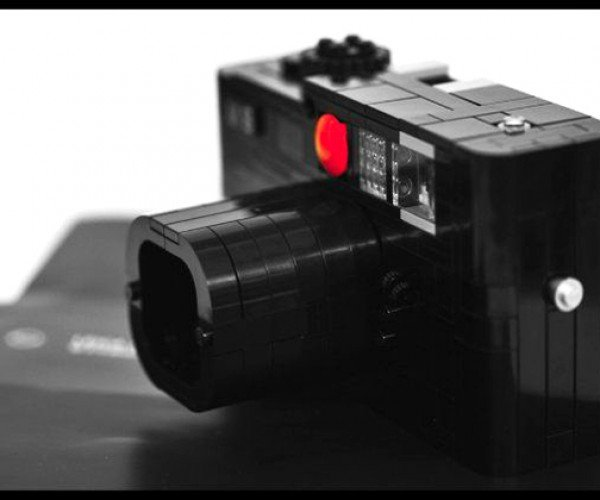 LEGO Leica M8: Just Leican Actual Camera