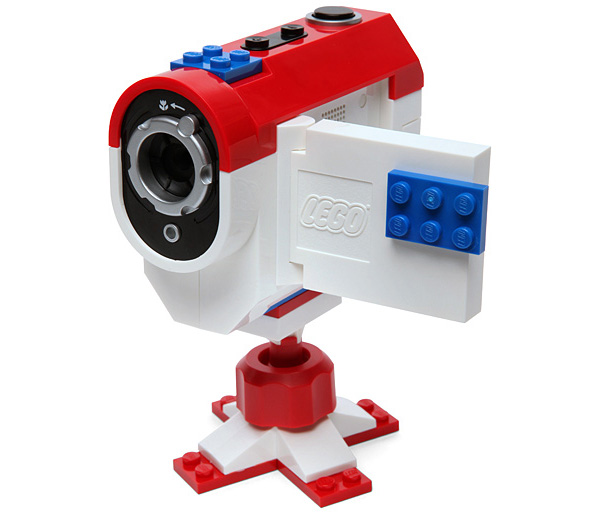 lego stop motion video camera