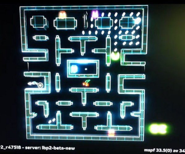 Little Big Planet 2 Makes Playable Pac-Man, World Dominance Next