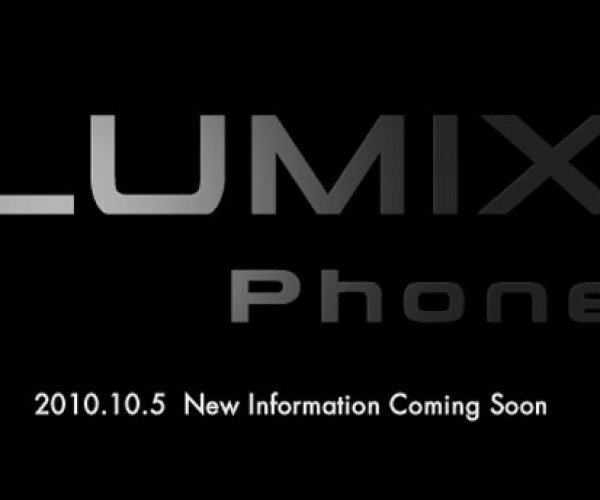 Panasonic Lumix Camera Phone in the Works