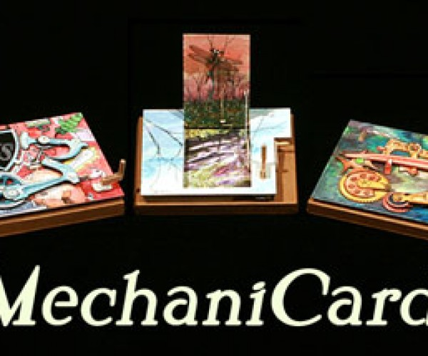 Mechanicards Are Part Greeting Part Kinetic Sculpture