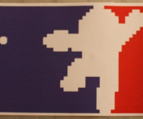 Mega Man Sticker: National Blue Bomber Association
