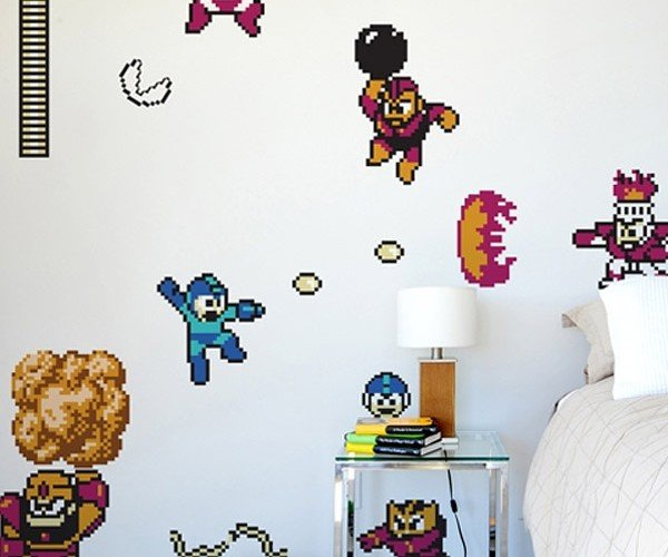 Mega Man Rocks Your Walls