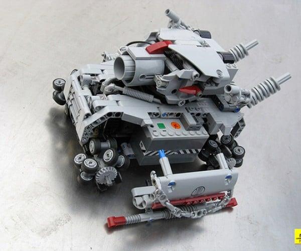 metal grudge lego tank 2