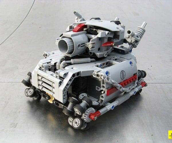 metal grudge lego tank 4