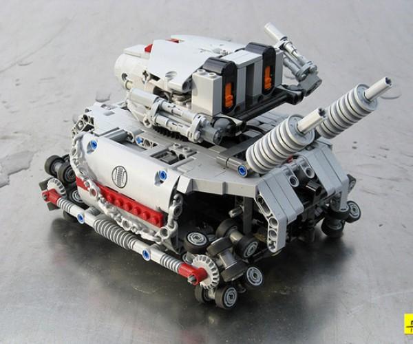 metal grudge lego tank 6
