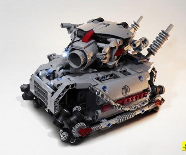 metal grudge lego tank