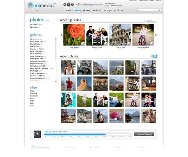 mimedia online backup 4