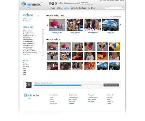 mimedia online backup 5