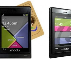 Modu T Breaks Cover as the Lightest 3.5g Touch Phone Evah!