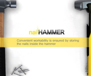 Nail Hammer Holds Your Nails, Saves Your Teeth