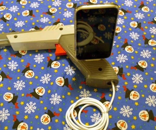 Dock Hunt: NES Light Gun iPhone Dock