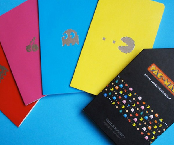 Pac-Man Gets the Moleskine Treatment