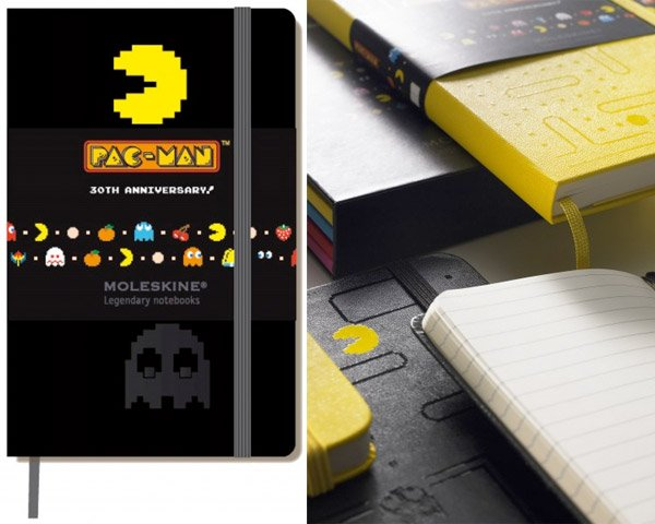 pac man moleskine notebooks 3