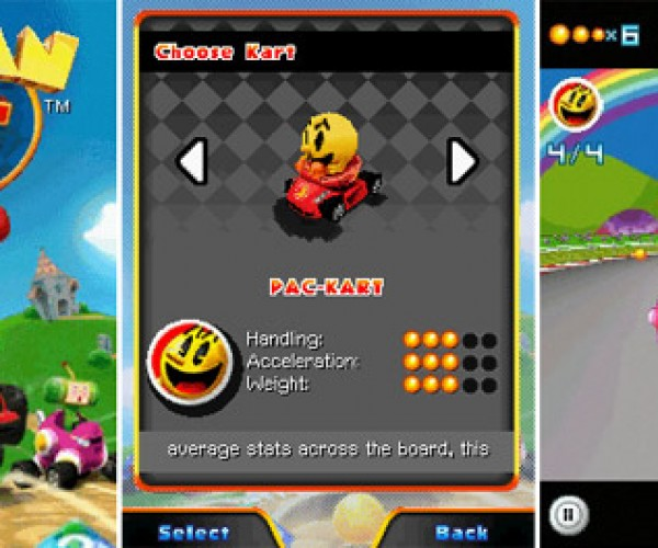 Pac-Man Kart Rally Hits Mobile Phones, Namco Fans Rejoice