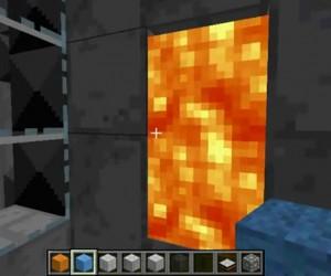 Minecraft Meets Portal