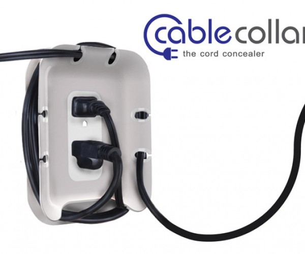 Quirky Cable Collar Collects Cables Conveniently