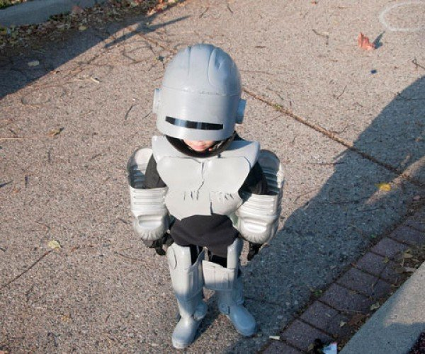 Robotot Costume is Part Kid, Part Robot Cop and All Awesome