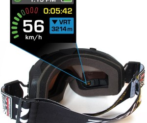 Recon-Zeal Transcend Goggles Get Built-in Gps and Head-Mounted Display