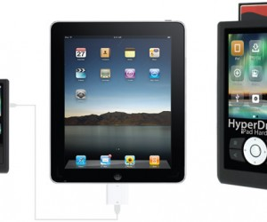 Sanho Hyperdrive Adds Much-Needed Storage to iPad