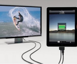 Scosche Sneakpeek 2 Makes It Easy to Hook an iPad or iPhone to Your Tv