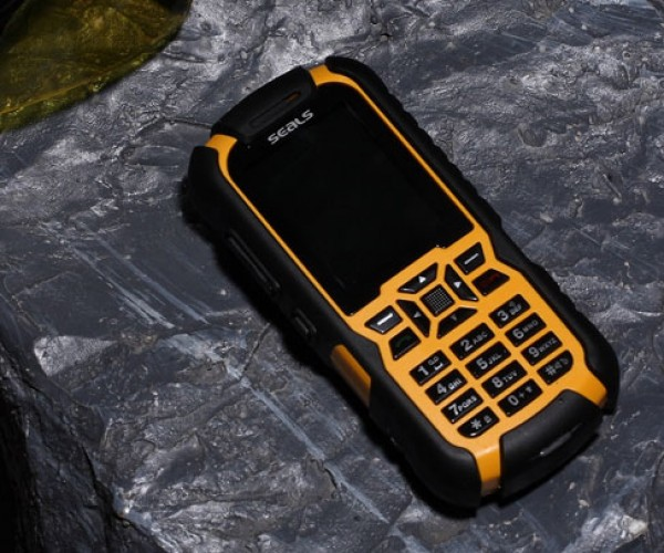 Seals Technology Rugged Mobile Phone Will Tell People Where You Are
