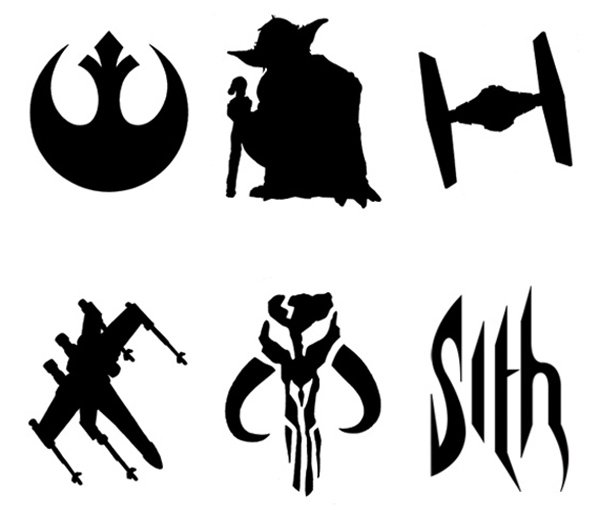 image relating to Star Wars Pumpkin Stencils Printable identified as Star Wars Stencils Printable Everyday Enthusiasm Rates