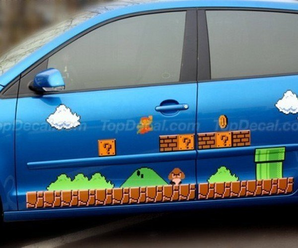 Super Mario Car Decals: It'S-a Me Monte Carlo!