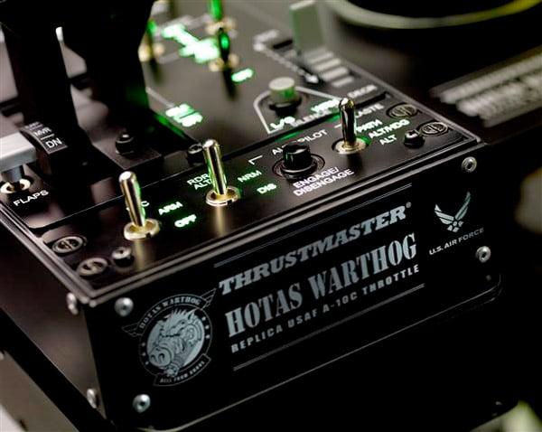 thrustmaster warthog controller detail