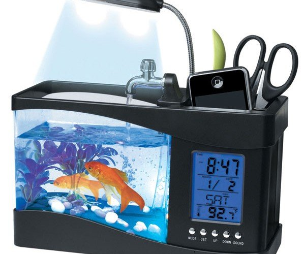 USB Aquarium Holds Your Fish and Much More