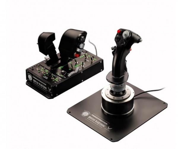 Thrustmaster Hotas Warthog Controller is Straight From the a-10c
