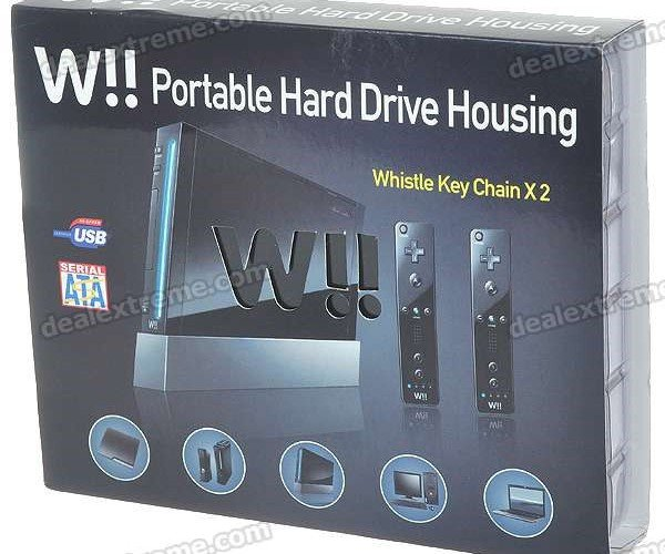 Wii Finally Gets a Hard Drive (Sorta, Kinda)