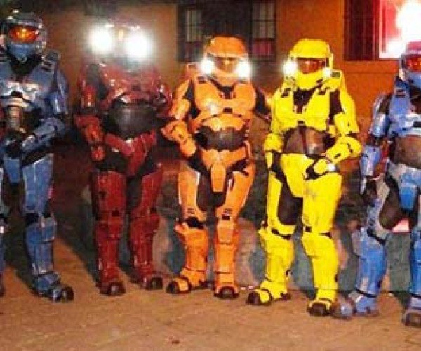 Incredible Halo Costumes by Shawn Thorsson: Wish I Had One for Halloween