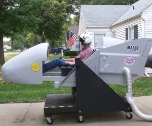 DIY Flight Simulator: to Infinity and Beyond!
