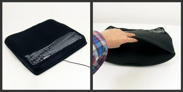 keyboard silencer cover thanko crapgadget