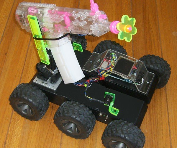 R/C Squirt Gun Car Will Make You All Wet