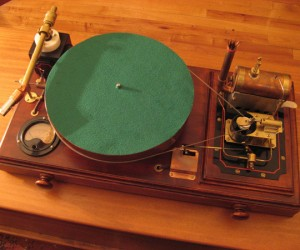 Steam-Powered Record Player: Taking Steampunk Too Far