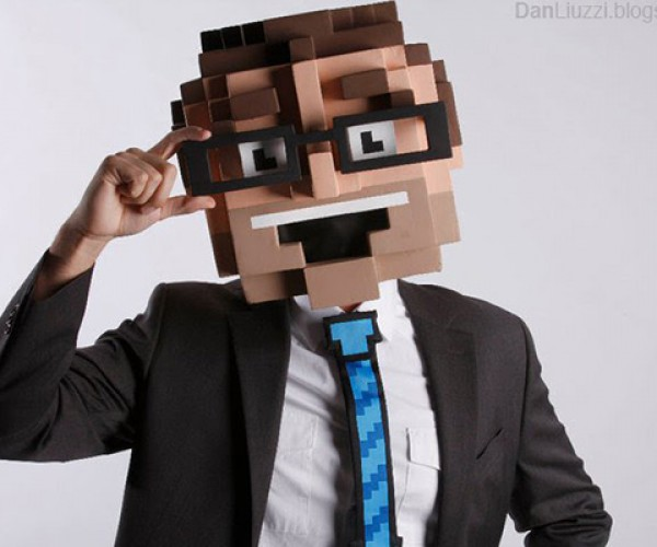 8-Bit Head Costume: Not Strong Enough to Break Bricks