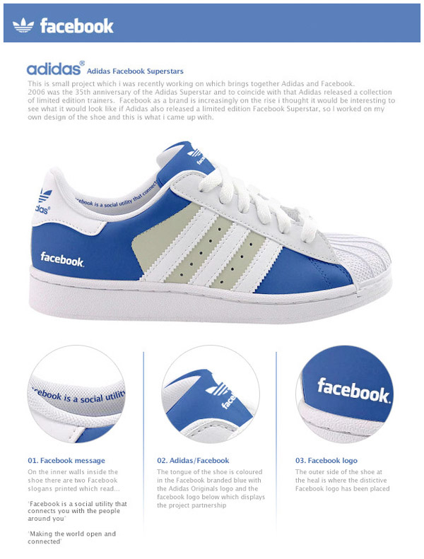adidas facebook shoes