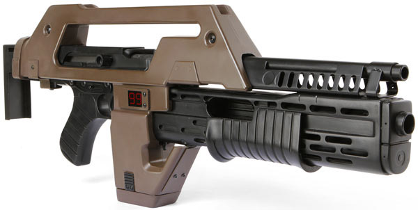 aliens pulse rifle replica 2