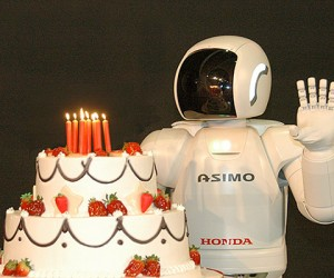 Honda'S Asimo Robot Turns Ten